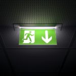 Exit sign - iStock